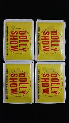 1979 Morris Sales Dolly Show Wax Pack 4 Pack Lot Very Rare