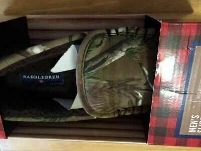 0a5a8f31afc47 New Saddlebred Realtree Memory Foam Slippers Men's Size M or L ($36) Free  Ship