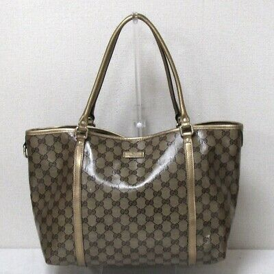 b20bae2d8ce5e8 GUCCI 388924 Shoulder Bag GGpattern Canvas - $552.90 | PicClick