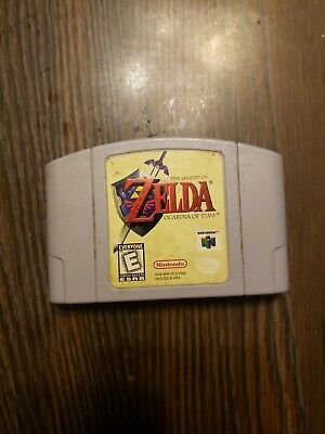 Legend of Zelda: Ocarina of Time (Nintendo 64, 1998) Cartridge Only