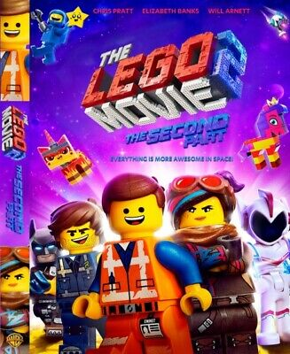 The Lego Movie 2: The Second Part 2019 - Blu Ray Only