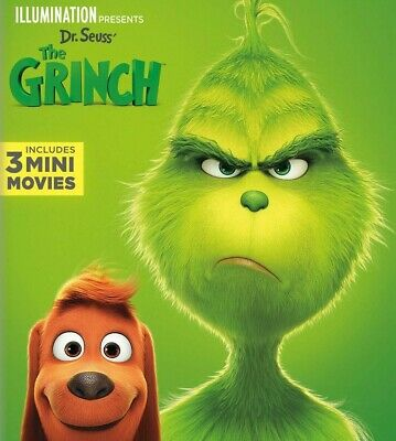 The Grinch 2018 - Dvd Only