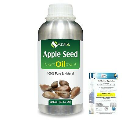 Apple Seed (Pyrus Malus) Pure Carrier Oil 2000ml/67 Flz. Express Shipping