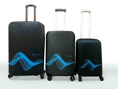 Travel Blue Luggage Cover Washable Suitcase Baggage Protection Protective Wrap