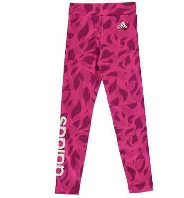 Girls Adidas Linear Leggings -Ages  7-14 Bnwt  Rrp £21.99  Last Few