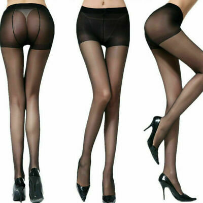 e47242bdb3e Silky Pantyhose Sexy Stockings Panty High Waist Silk Sheer Tight Black Grey  Sock