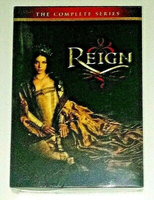 New! Reign: The Complete Series, Seasons 1-4. 17 Disc Dvd Box Set. Ships Free