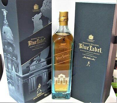 Johnnie Walker Blu Label MADRID Limited Edition Design, 70cl, 40% Esp. Box
