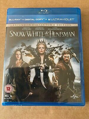 Snow White And The Huntsman Blu-ray New & Sealed Chris Hemsworth Charlize Theron