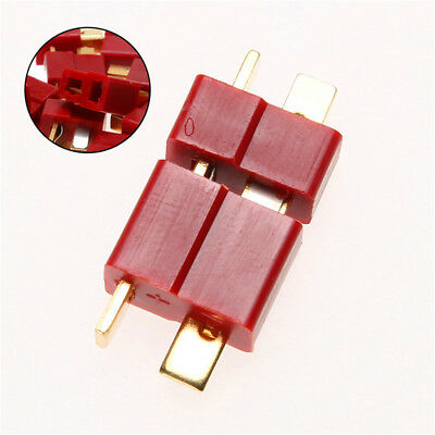 RC Lipo Battery Helicopter 10Pair Plug Cable Connectors Male Female T Shape