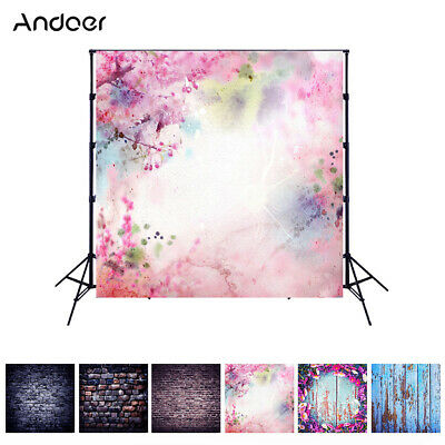 Andoer 1.5*1.5 meters / 5*5 feet Foldable Polyester Fibre Photography K4D4