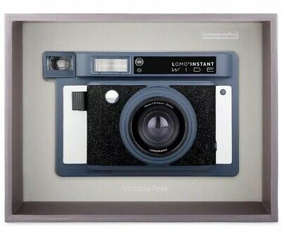 Lomo Instant Wide Camera Lomography Victoria Peak (Special Edition Blue) Picture
