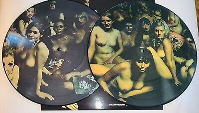 Jimi Hendrix, Electric Ladyland, Gatefold Banned Nude Cover Pic Disc Vinyl 2Lp