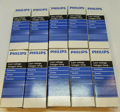Philips 25713-9 Type 5761 30W Halogen Microscope Lamps (10 Pack)