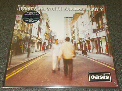 OASIS-WHAT'S THE STORY MORNING GLORY-2014 REMASTERED 180g VINYL 2LP-NEW & SEALED