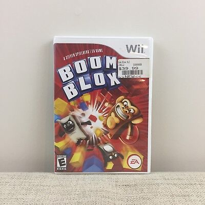 Boom Blox (Nintendo Wii, 2008) - Complete Tested