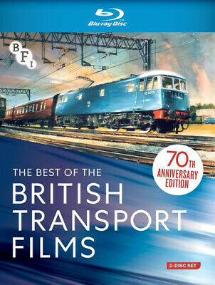 The Best of the British Transport Films Blu-ray (2019) cert E 2 discs ***NEW***