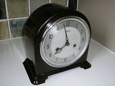 Restored – Smiths Bakelite Striking Mantle Clock