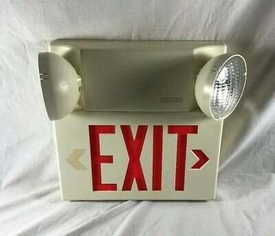 Sure-Lites Exit Sign Commercial EXIT Sign Single Sided