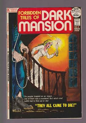 Forbidden Tales of Dark Mansion # 5  They Came to Die ! grade 8.5  scarce book !