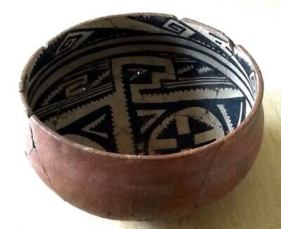 Ancient Native American Indian Bowl - Made up from Shards - Collectors Item Rare