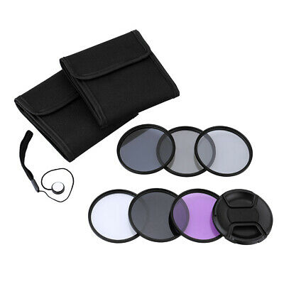Andoer 58mm UV+CPL+FLD+ND(ND2 ND4 ND8) Photography Filter Kit for DSLRs TS C1Y0
