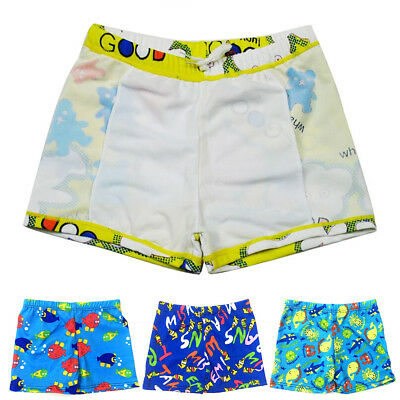 91374004a371d Baby Boys Swimming Trunks Cartoon Polyester Bathing Suit Children Swimwear  BSCA