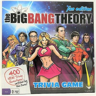 Big Bang Theory TV Trivia Game Fan Edition Fact or Fiction Quiz Question