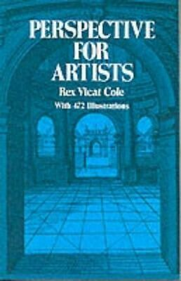 NEW Perspective for Artists By REX VICAT COLE Paperback Free Shipping