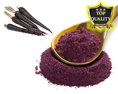 Black Carrot Powder, Dye, Carrot Cake, Dried, Pure Carrot 100% DEHYDRATED CARROT