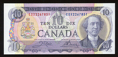 1971 Bank of Canada $10 Replacement Banknote - BC-49dA Steel Engraved - EF