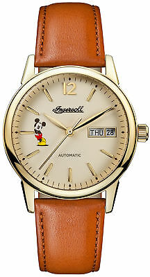 Watch Womens Ladies Ingersoll Trenton Union ID01101 Brown Leather