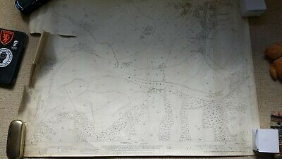 Ordnance Survey Ribchester 1932 , 25 inch to a mile Map. river ribble