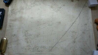 Ordnance Survey Ribbleton 1932 , 25 inch to a mile Map. fulwood row