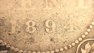 1894 C4 Thin 4 Canada One 1 Cent Large Penny Circulated Victoria Coin J734