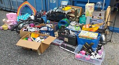 massive mixed carboot job lot clearance toys electricals household and lot more