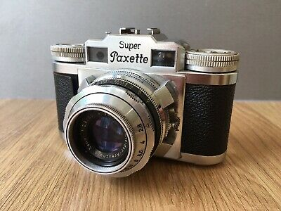Vintage 'Braun' Super Paxette Camera & Case!