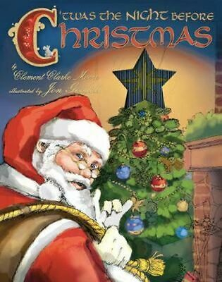 NEW Twas the Night Before Christmas By Clement C. Moore Hardcover Free Shipping
