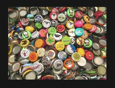 500 Beer Bottle Caps (((( No Dents )))) Good Mixture of Beer Caps