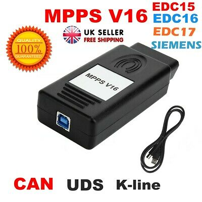 MPPS V16 ECU Flasher Chip Tuning Remapping Tool for EDC15