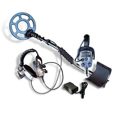 "DetectorPro Headhunter Underwater Waterproof Metal Detector with 8"" Coil"