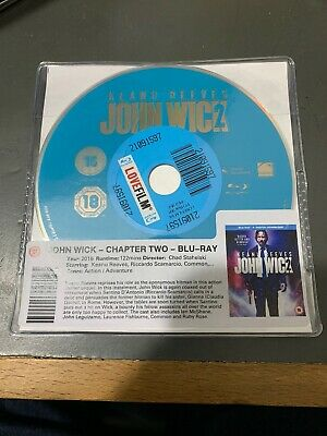 John Wick: Chapter 2 Blu-ray - Keanu Reeves DISC ONLY . Action Crime Film