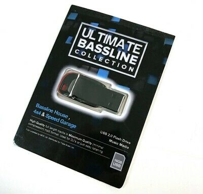 Ultimate Bassline Collection - USB Drive - 1200 High Quality Full Length Tracks