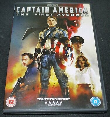 Captain America - The First Avenger (DVD 2011) Chris Evans - Marvel Studios