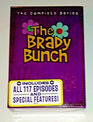 Brand New! The Brady Bunch: The Complete Series. 20 Disc Dvd Box Set. Ships Free