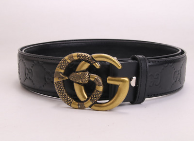 2019 New fashion luxury men and women belt Gold buckle7