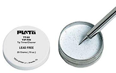 Plato Products Inc TT-95 Tip Tinner/Cleaner, Lead-Free, ESD Safe, 1 Can