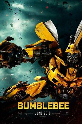 Bumblebee 2018 Movie Poster 61 X 91 Cm ( 24X36 Inch) Laminated