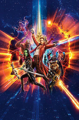 Guardians Of The Galaxy Vol. 2 Poster 61 X 91 Cm ( 24X36 Inch)