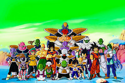 Dragon-Ball-Z movie FANTASY POSTER 61 X 91 CM ( 24X36 INCH)